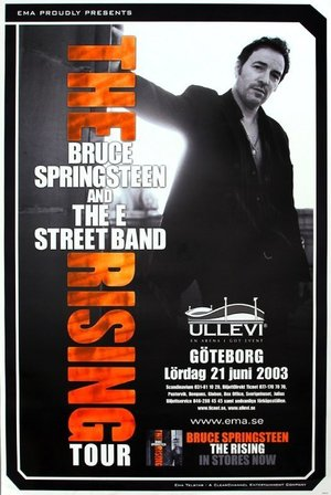 Concert poster from Bruce Springsteen - Ullevi, Göteborg, Sweden - 21. Jun 2003