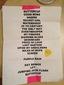 Setlist photo from Brad - O2 Academy 2 Birmingham, Birmingham, United Kingdom - 9. Feb 2013