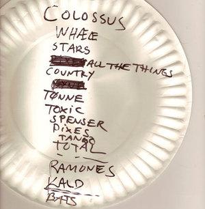 Setlist photo from Hurra Torpedo - Avalon, New York, NY, USA - 8. Jun 2006