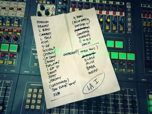 Setlist photo from Pearl Jam - Los Angeles Sports Arena, Los Angeles, CA, USA - 23. Nov 2013