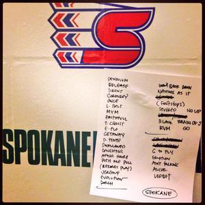 Setlist photo from Pearl Jam - Spokane Arena, Spokane, WA, USA - 30. Nov 2013